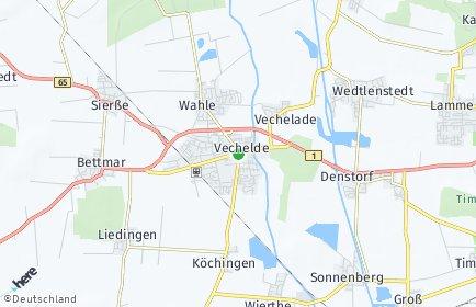 Stadtplan Vechelde