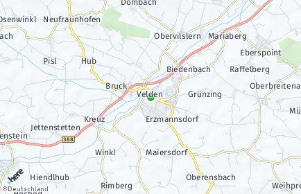 Stadtplan Velden (Vils)