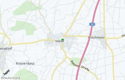 Stadtplan Velen