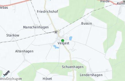 Stadtplan Velgast