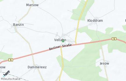 Stadtplan Vellahn