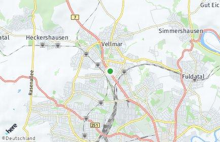 Stadtplan Vellmar
