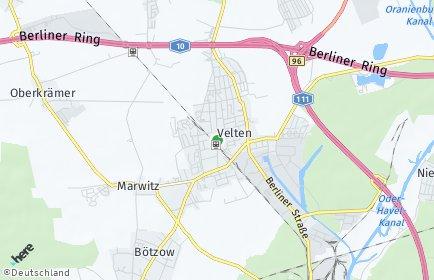Stadtplan Velten