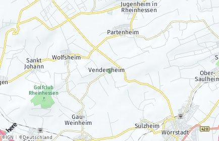 Stadtplan Vendersheim