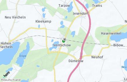 Stadtplan Ventschow