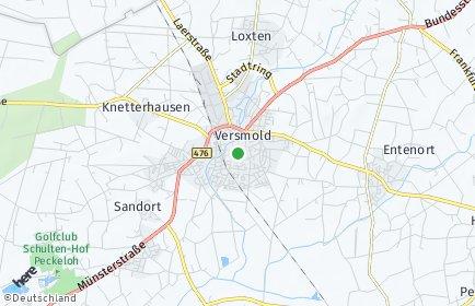 Stadtplan Versmold