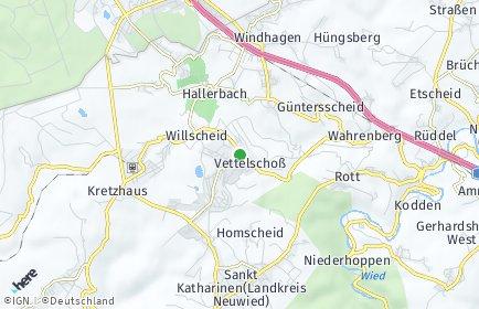 Stadtplan Vettelschoß