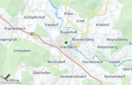 Stadtplan Viechtach