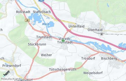 Stadtplan Viereth-Trunstadt