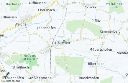 Stadtplan Vierkirchen