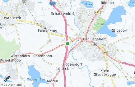Stadtplan Segeberg