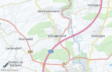 Stadtplan Villingendorf