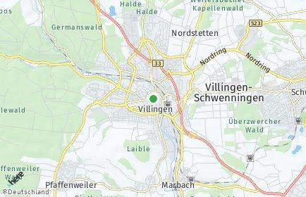 Stadtplan Villingen-Schwenningen OT Rietheim