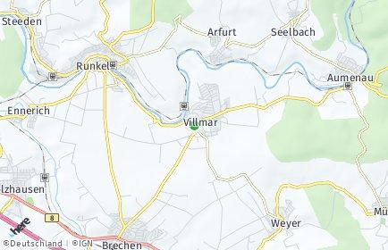 Stadtplan Villmar