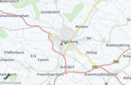 Stadtplan Vilsbiburg
