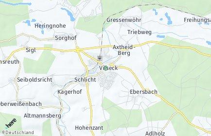 Stadtplan Vilseck