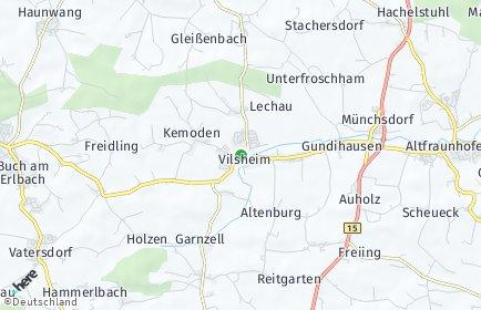 Stadtplan Vilsheim