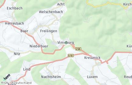 Stadtplan Virneburg
