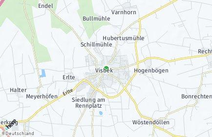 Stadtplan Visbek