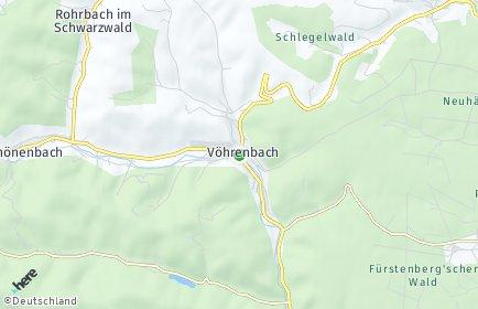 Stadtplan Vöhrenbach