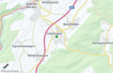 Stadtplan Vöhringen (Württemberg)