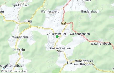 Stadtplan Völkersweiler