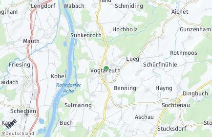 Stadtplan Vogtareuth