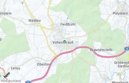 Stadtplan Vohenstrauß