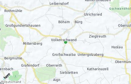 Stadtplan Volkenschwand