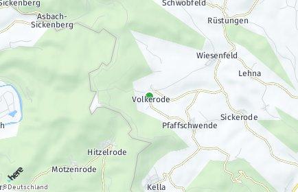 Stadtplan Volkerode