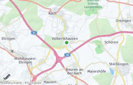 Stadtplan Volkertshausen
