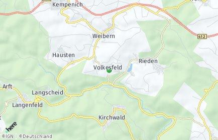 Stadtplan Volkesfeld