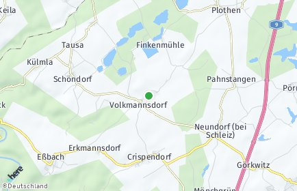 Stadtplan Volkmannsdorf