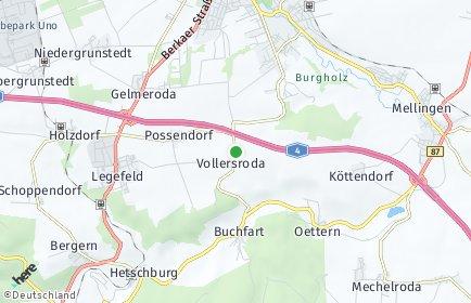 Stadtplan Vollersroda
