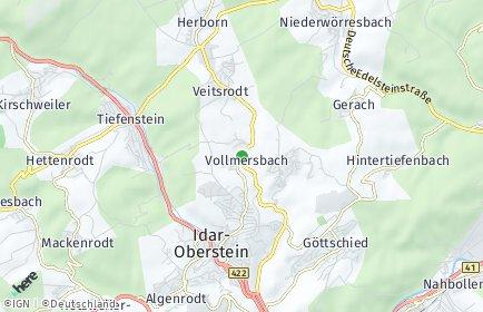 Stadtplan Vollmersbach