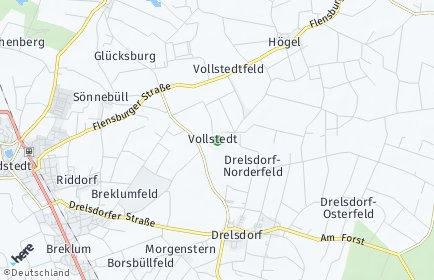 Stadtplan Vollstedt