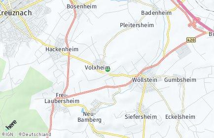 Stadtplan Volxheim