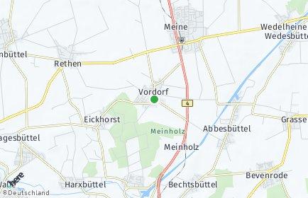 Stadtplan Vordorf