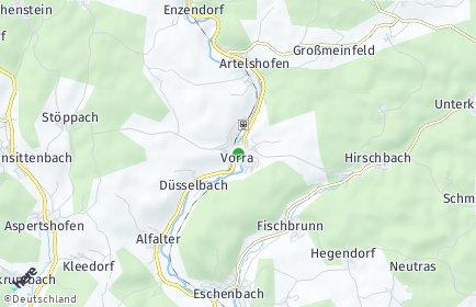 Stadtplan Vorra