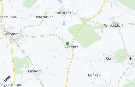 Stadtplan Vorwerk (Niedersachsen)