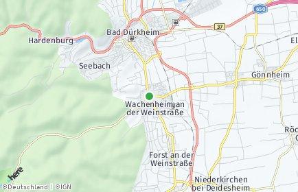 Stadtplan Wachenheim an der Weinstraße