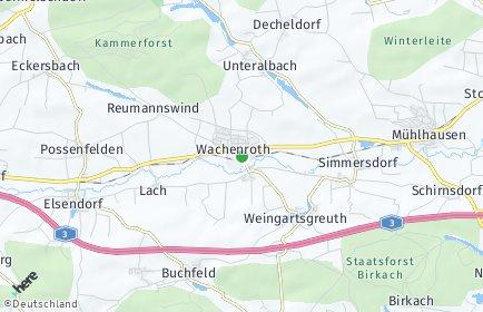 Stadtplan Wachenroth