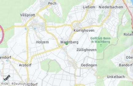 Stadtplan Wachtberg