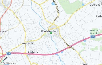 Stadtplan Wachtendonk