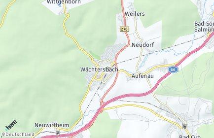Stadtplan Wächtersbach