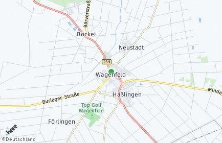 Stadtplan Wagenfeld