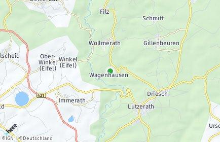 Stadtplan Wagenhausen