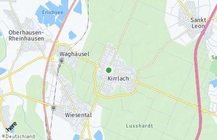 Stadtplan Waghäusel