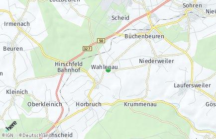 Stadtplan Wahlenau