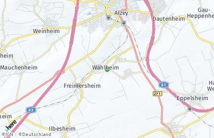 Stadtplan Wahlheim